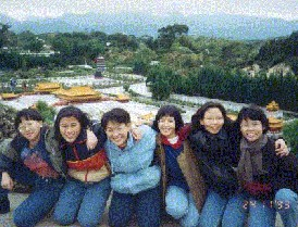 With the Music Society at Xiao Ren Guo, Taiwan - 1993
